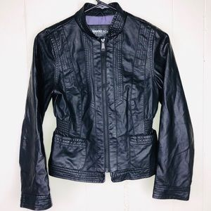 Hawke & Co fake leather jacket 14 small